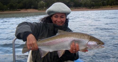 Rainbow trout latitud sur anglers