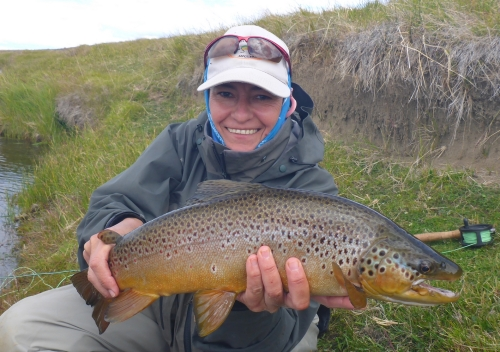 rio gallegos camp fishing