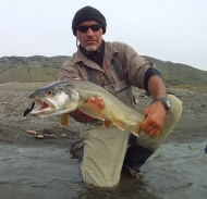 los glaciares fly fishing